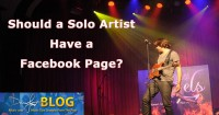 Should a Solo Artist have a Facebook Page?